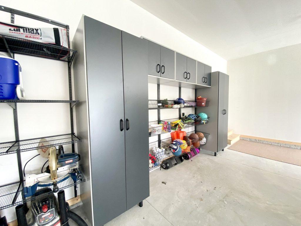 kitchen and bath company garage organization systems