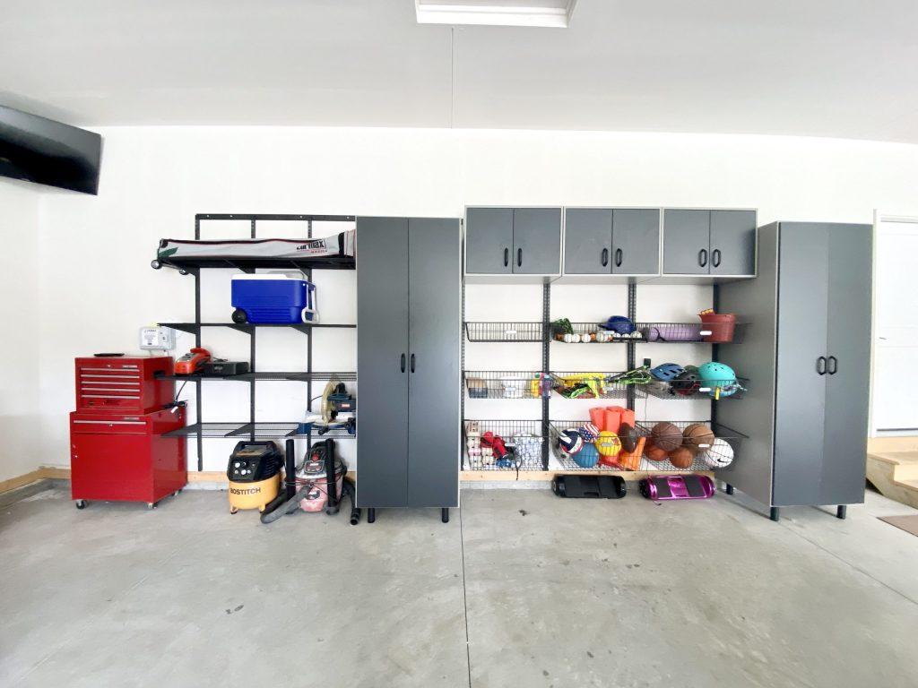 organized living garage organization system