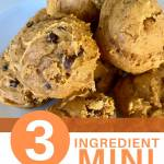 quick and easy 3 ingredient mini pumpkin muffins recipe