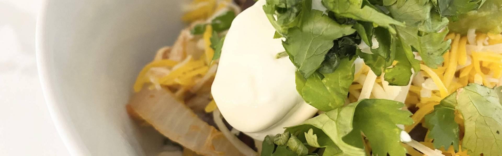 Homemade Chicken Burrito Bowls with Cilantro Lime Rice